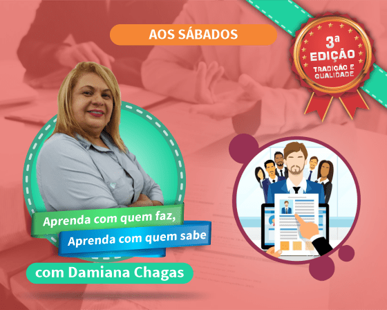 Curso Recrutamento e Seleção por Competências com Damiana Chagas