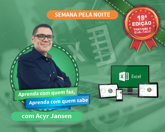 Curso Excel Básico com Acyr Jansen