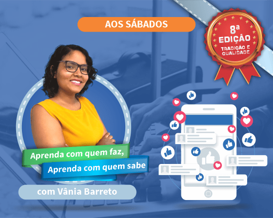 Curso Prático de Facebook e Instagram Ads com Vânia Barreto