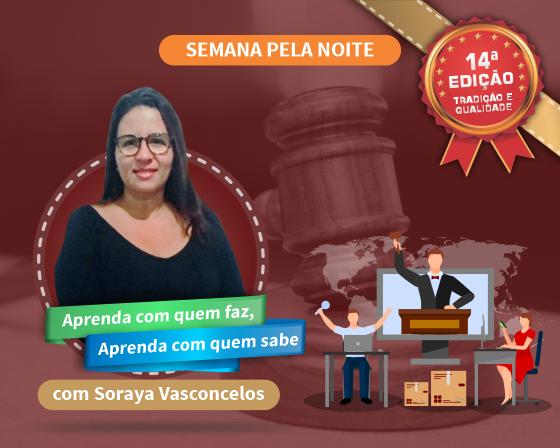 Curso Pregão Presencial e Eletrônico com Soraya Vasconcelos