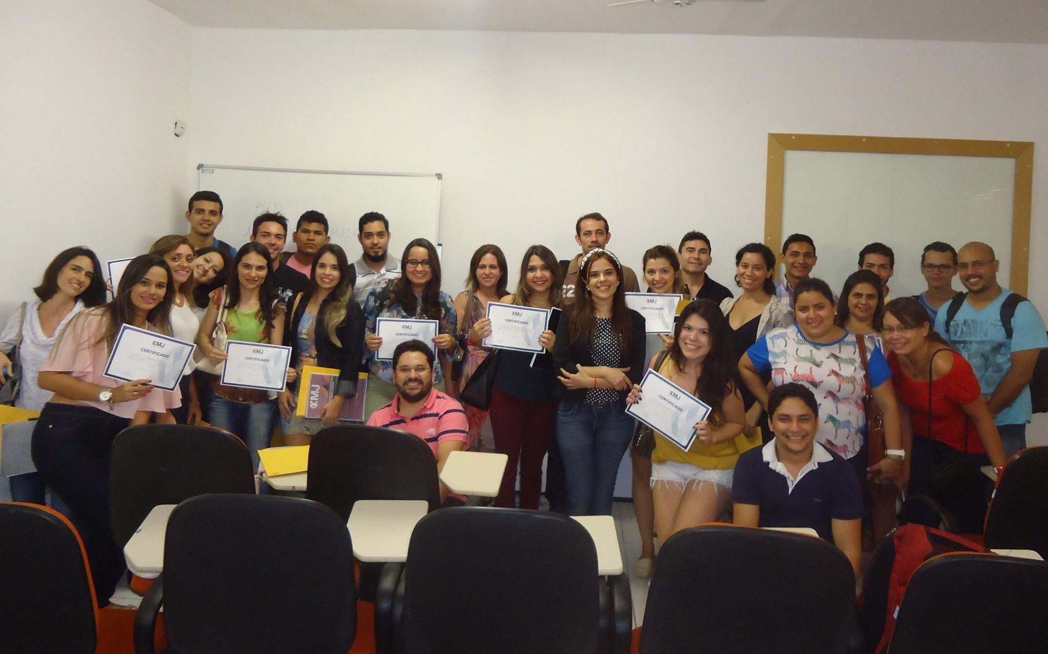 Turma do curso Gestão e Estratégia em Mídias Sociais Março de 2015