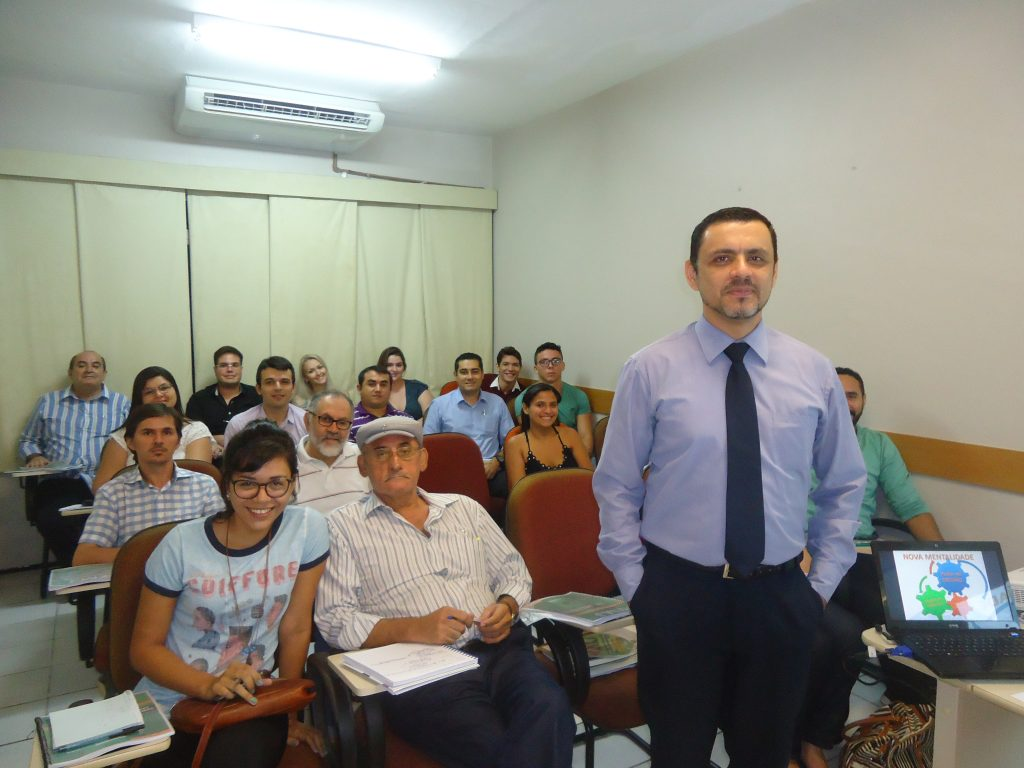 Turma do curso marketing Político e Eleitoral da MJ Capacitações