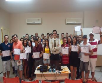 Turma do Curso Prático de Licitações da MJ Capacitações realizado em Setembro de 2014
