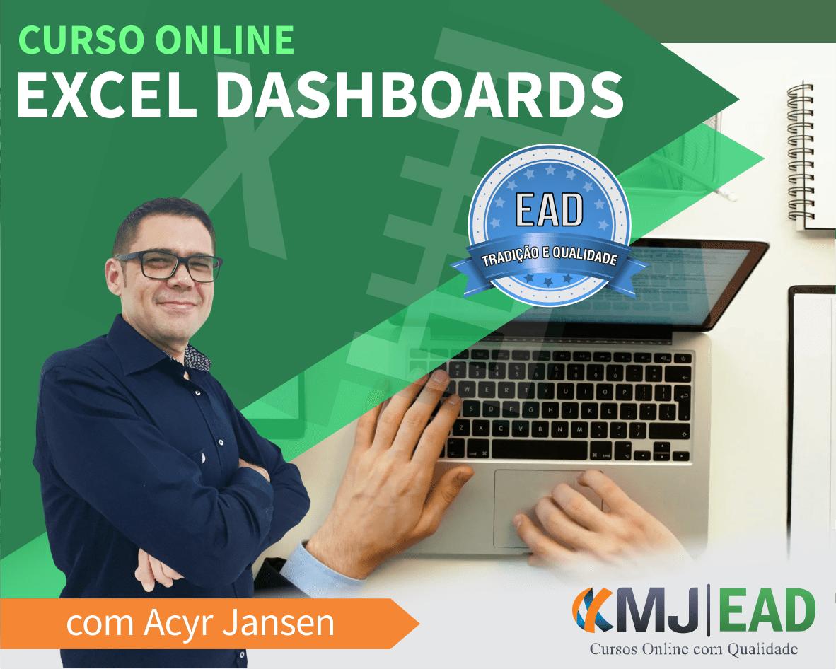 Curso Online de Excel Dashboards com Acyr Jansen