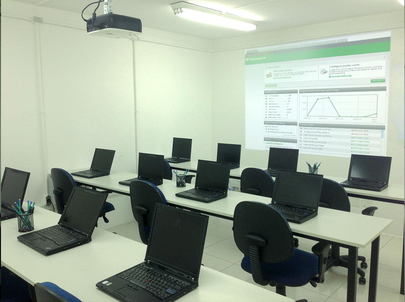 Aluguel de Laboratório de Informática